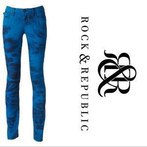 Rock and Republic Tie Dye Jeans Size 6